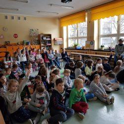 Nasze odwiedziny z lekcją edukacyjną w Szkole Podstawowej nr 22 w Bielsku-Białej